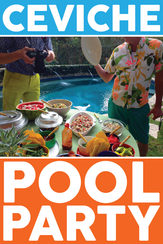 The Table Set Podcast Ceviche Pool Party