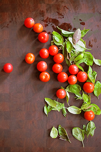 Cherry Tomatoes Basil