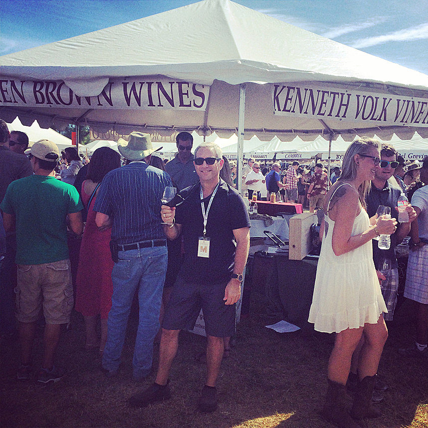 Ken Eskenazi & Sippity Sup at Santa Barbara Vinters Harvest Festival 2014