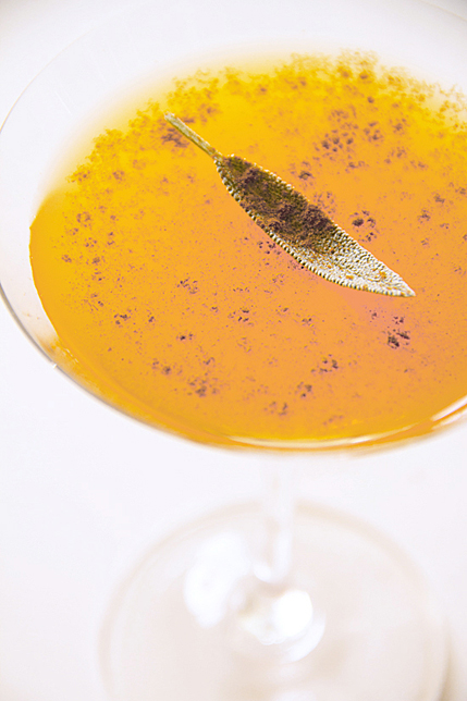 roasted pumpkin cocktail