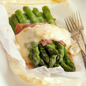 Asparagus in Parchment