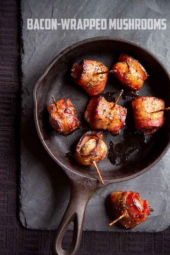 Bacon-Wrapped Mushrooms