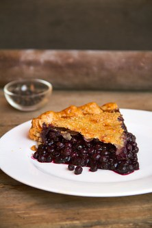 Blueberry Balsamic Pie with Black Pepper