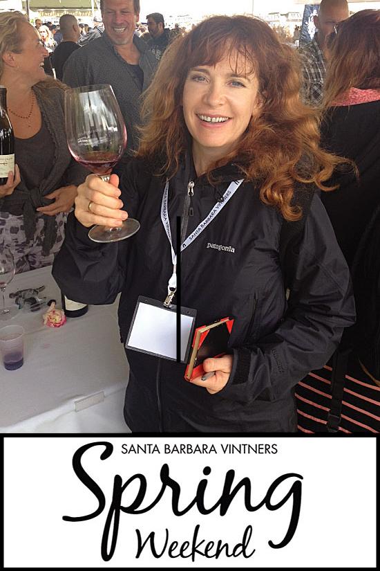 Helen Melville at Santa Barbara Vintners' Festival 2015 for Sippity Sup
