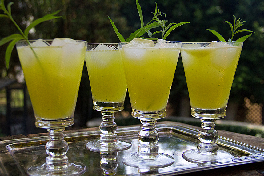 pineapple lemon verbena lemonade