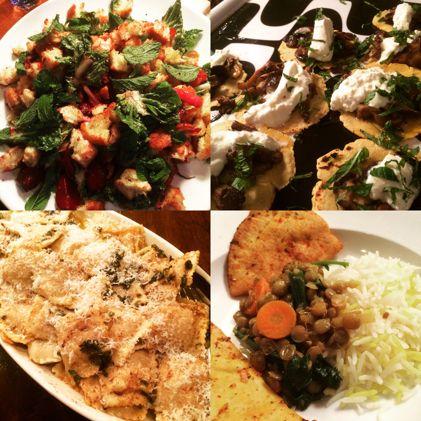 Small Plates Dinner Party
