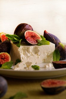 Fig, Feta, Balsamic and Mint