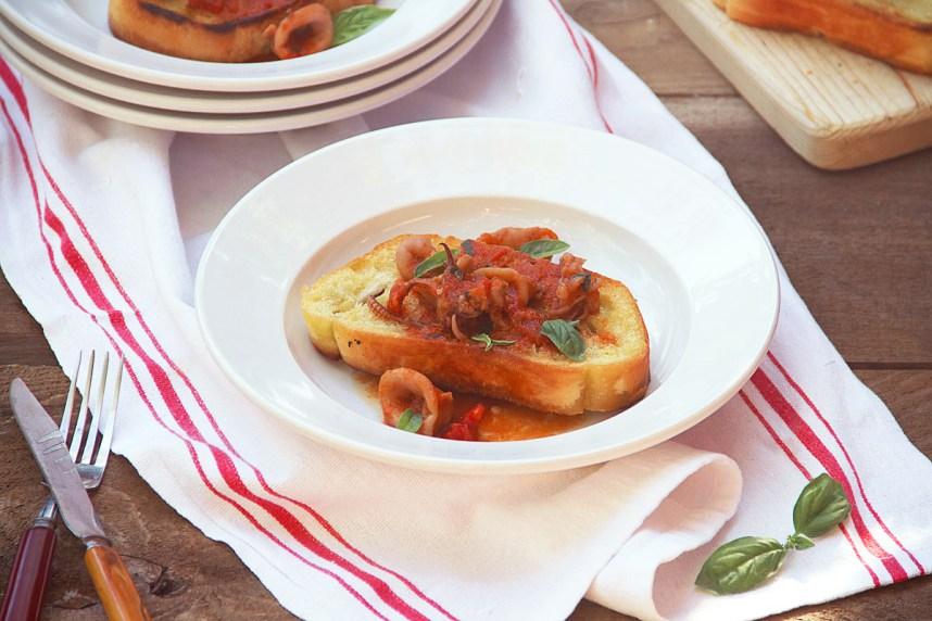 How to Cook Calamari (Amalfi Style)