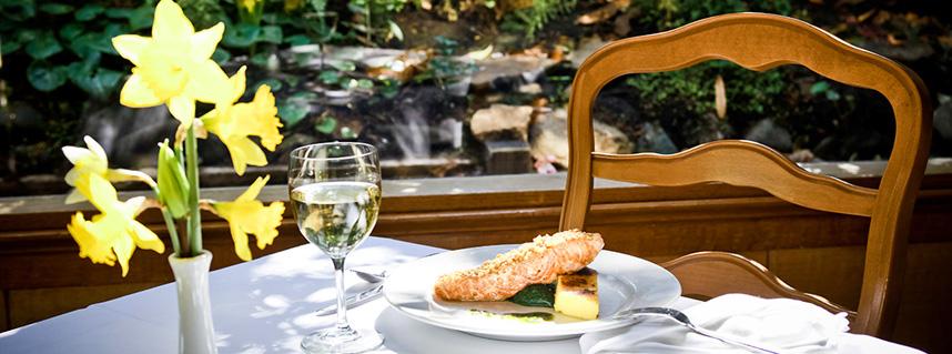 Dining at Little River Inn, Mendocino CA