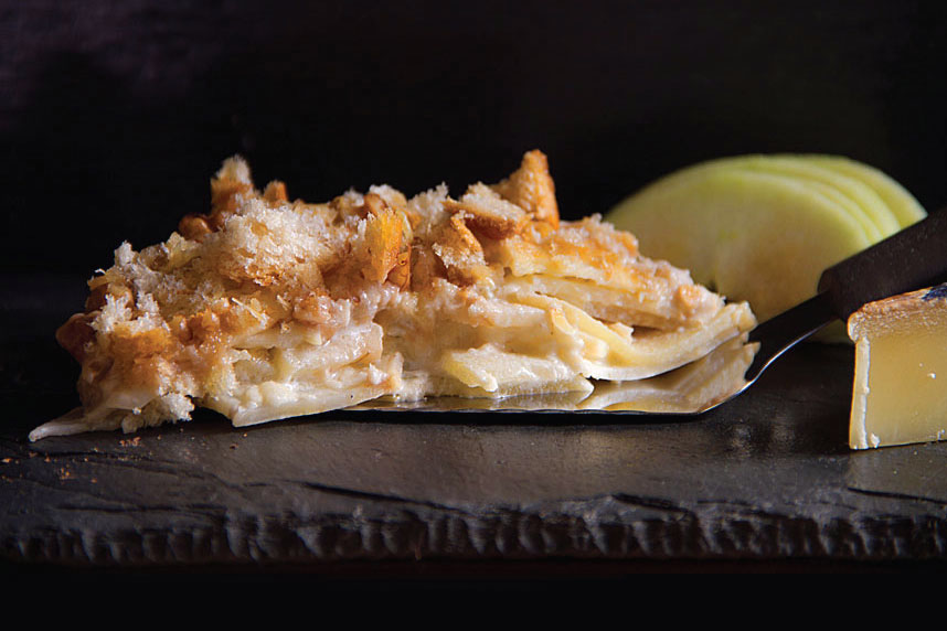Apple-Celery Root Gratin