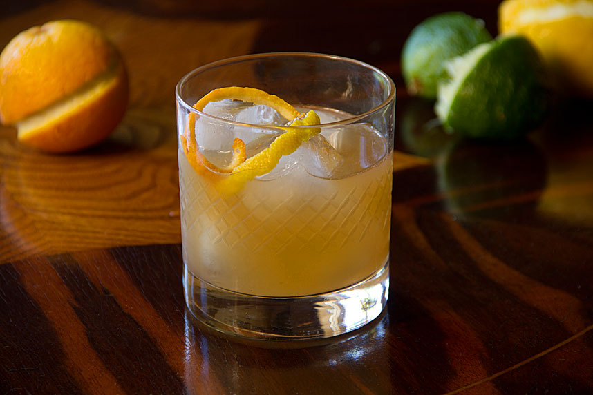 New York whiskey cocktail