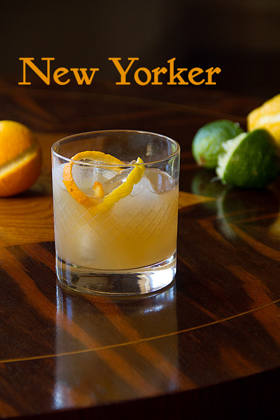 New Yorker whiskey cocktails