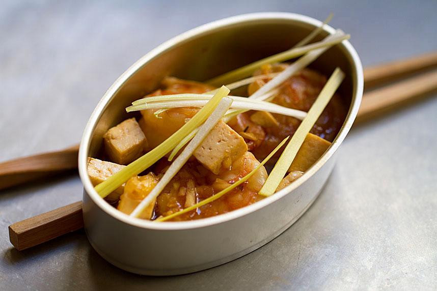 Simple Shrimp and Tofu Stir-Fry
