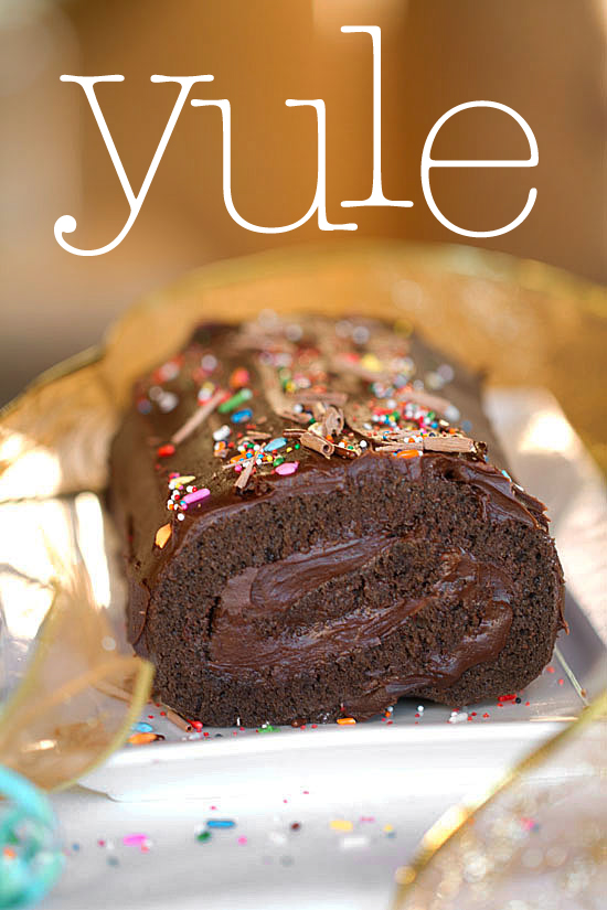 Holiday Desserts: Simple Yule Log