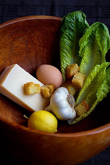 Caesar Salad Ingredients