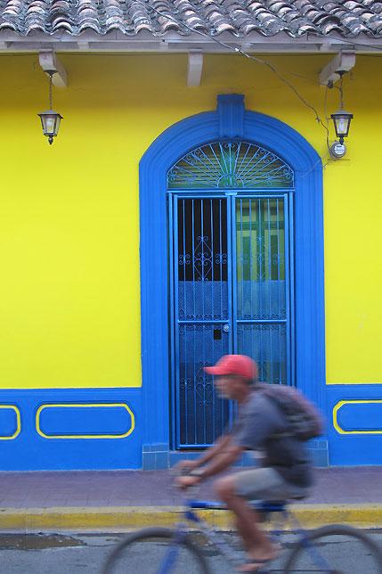 Street in Granada, Nicaragua