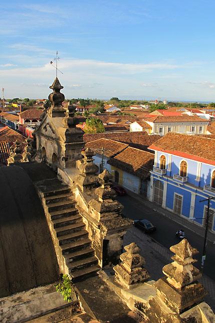 Granada, Nicaragua Red Tile Roofs