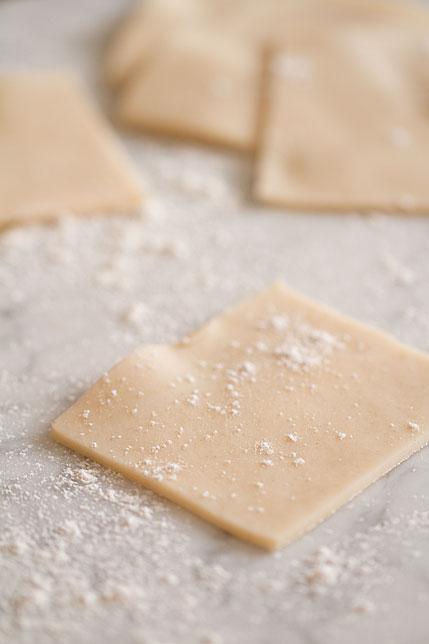Pie Dough Squares