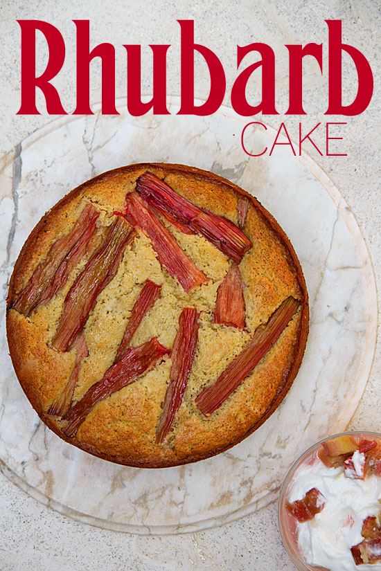 I Bought Rhubarb Specifically To Make A Cake Saw In Martha Stewart Living Magazine Pistachio Yogurt Marthas Is Guilty