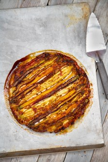 Spiced Carrot Tatin with Feta