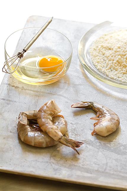 Spicy Shrimp Rolls Crumbs