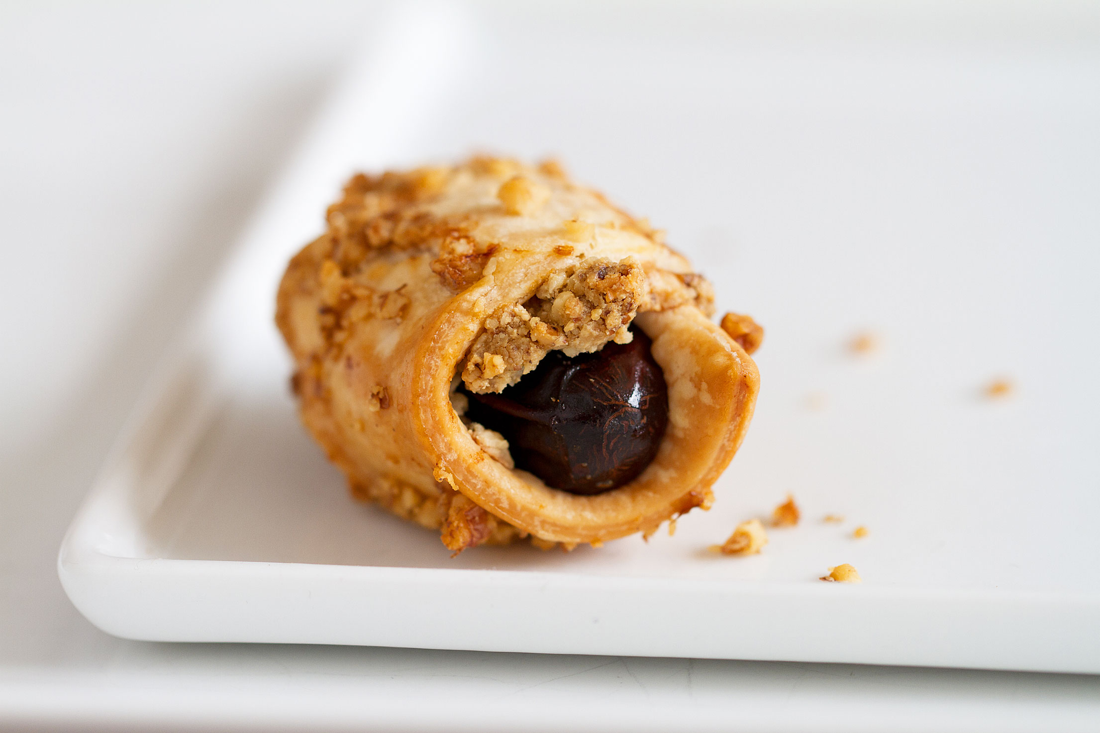Savory Rugelach with Blue Cheese, Dates, and Walnuts