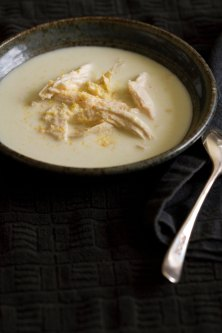 Chicken and Cornbread Buttermilk Soup