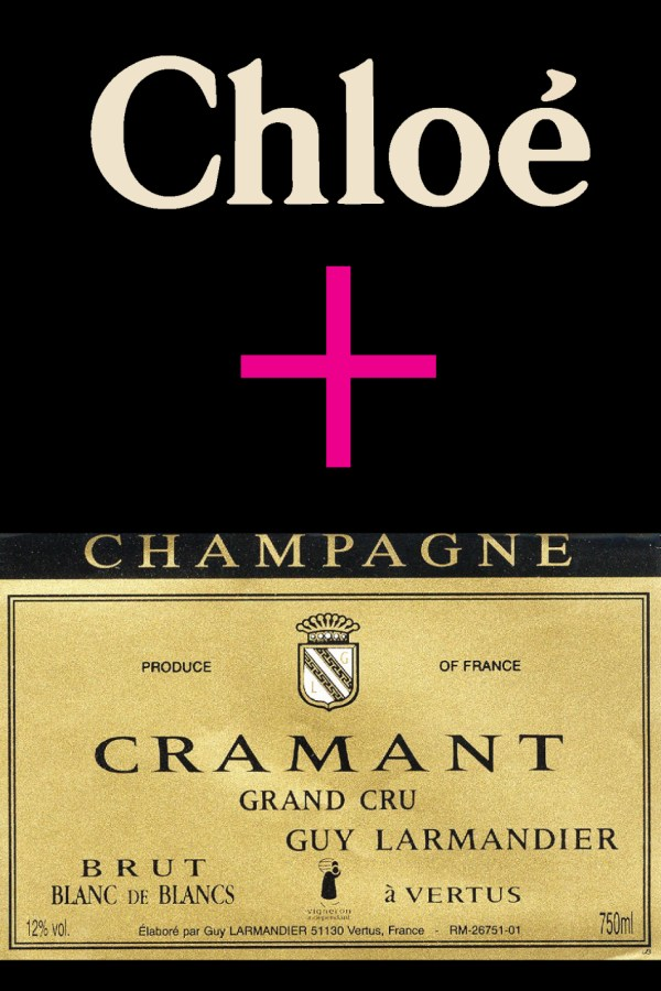 Chloe Boots and Guy Larmandier Cramant Champagne!