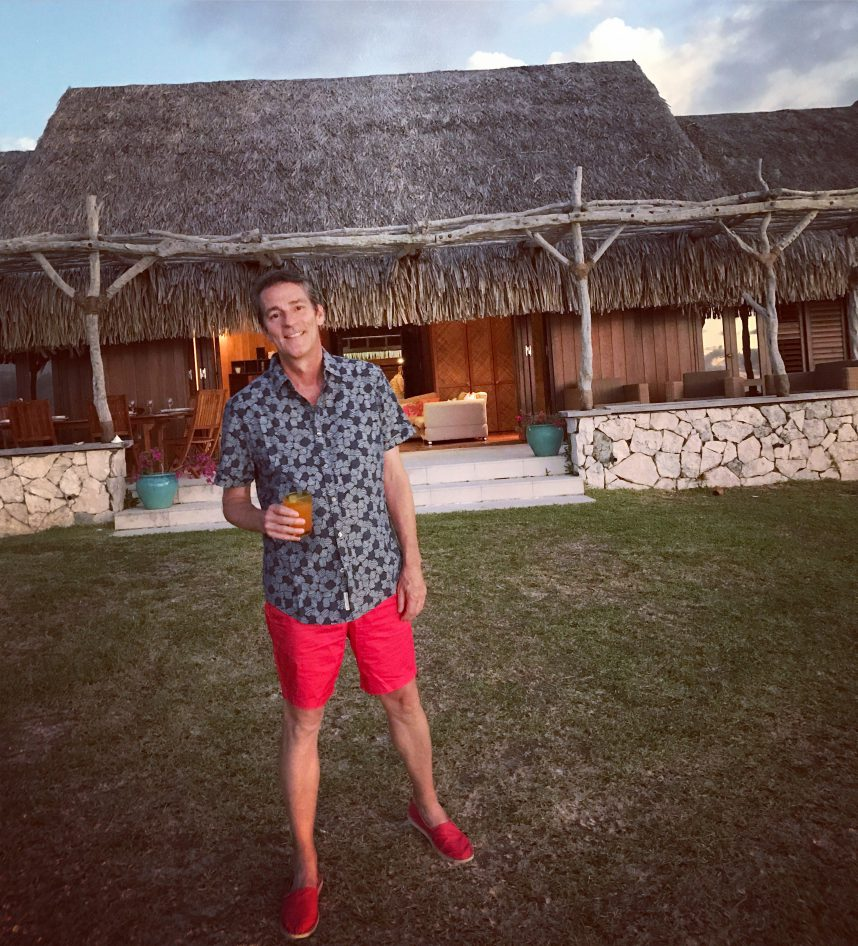 Greg Henry at Villa Lagon Moorea