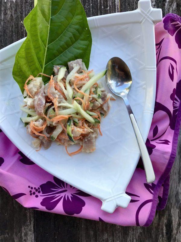 Tahitian Poisson Cru (E'ia Ota)