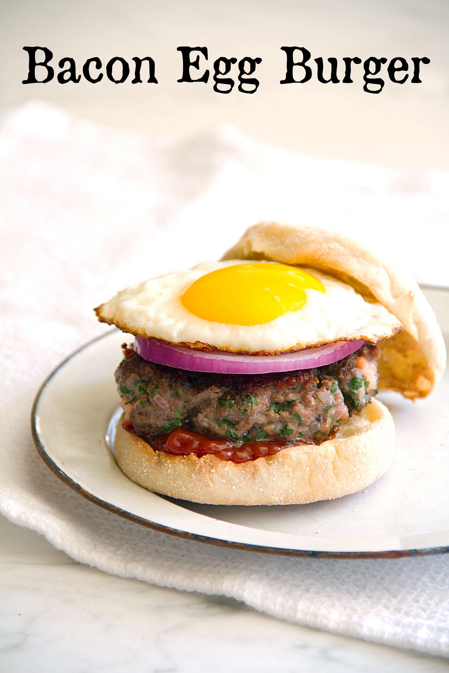 Bacon Egg Burger