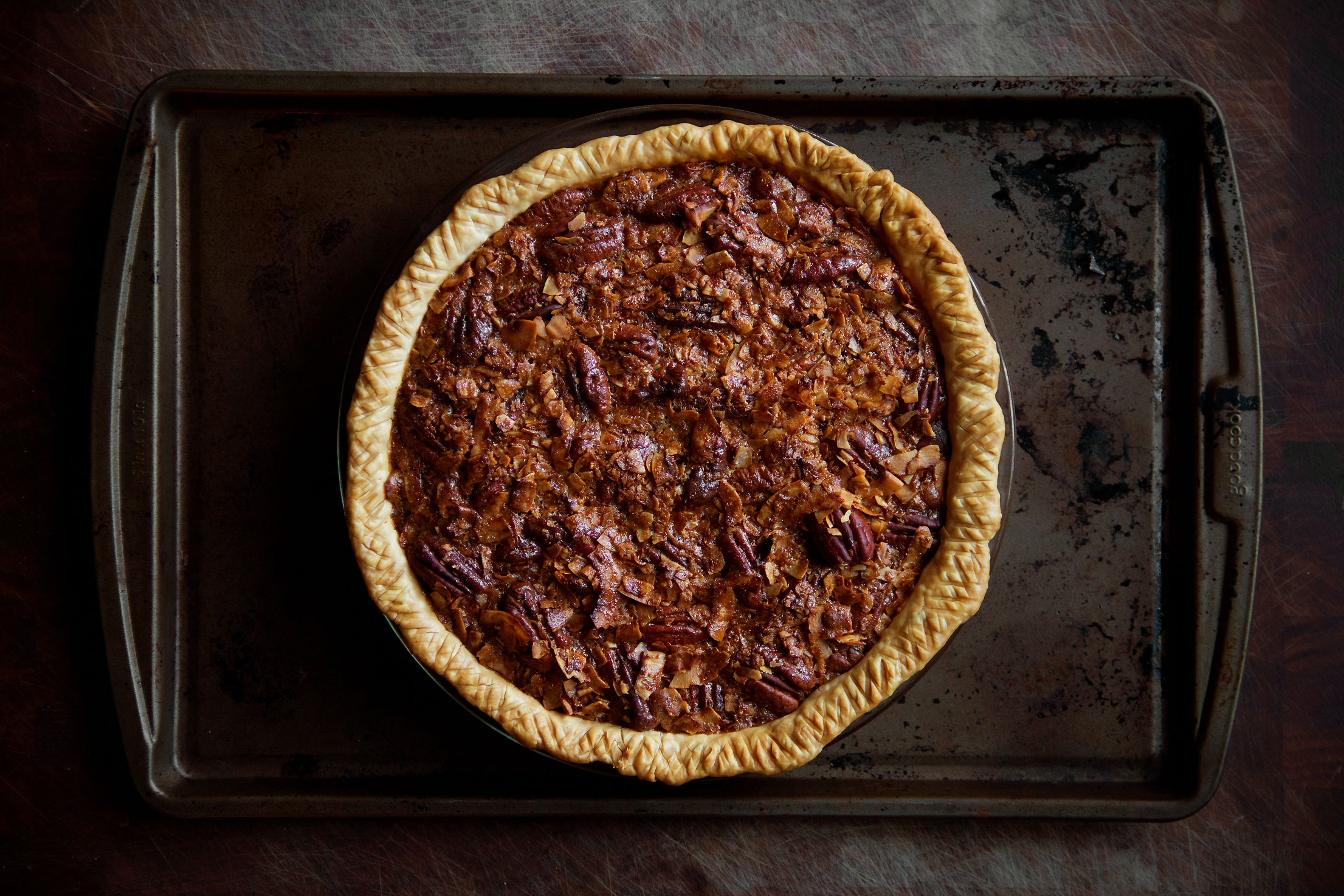 Thank God there's Pie Chocolate Pecan Coconut Pie