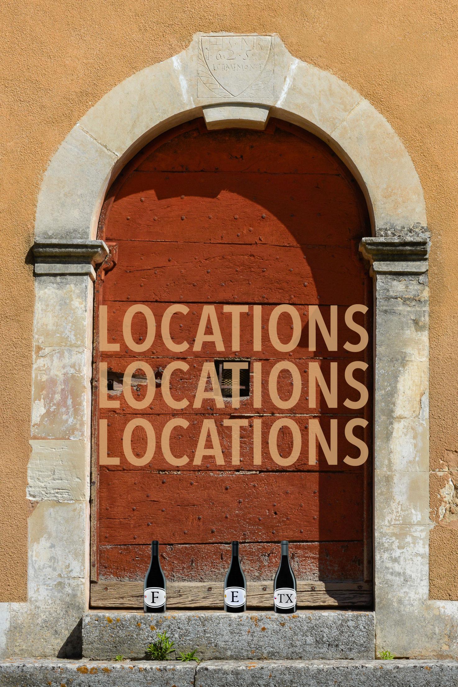 Grenache Locations