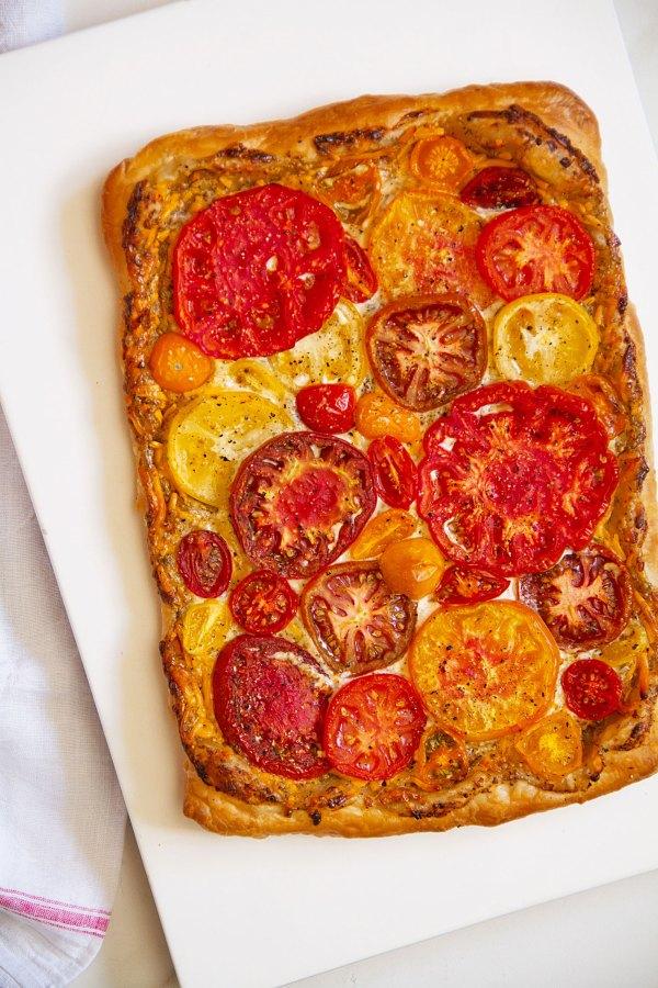 Southern-Style Fresh Tomato Tart