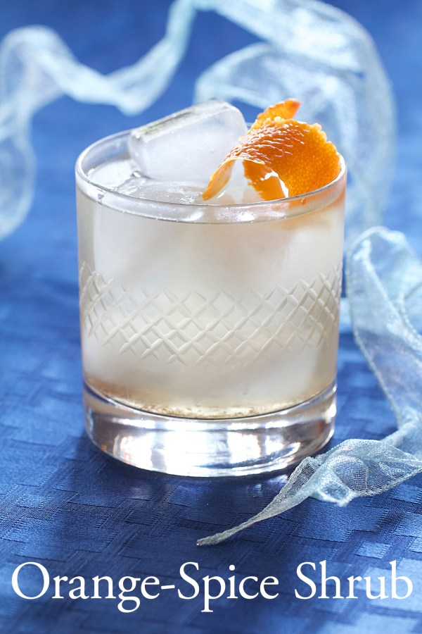 Orange-Spice Shrub: A Christmas Cocktail
