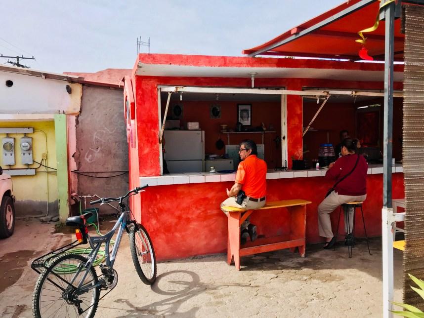 Taco Stand Tacos De Guisados Dizoyla in Loreto, Mexico