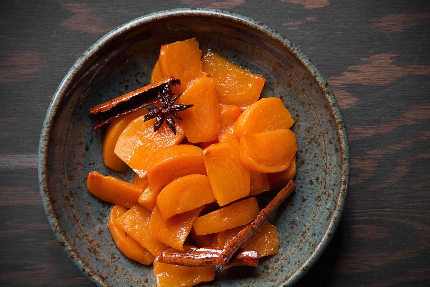 Persimmon and Spice Compote