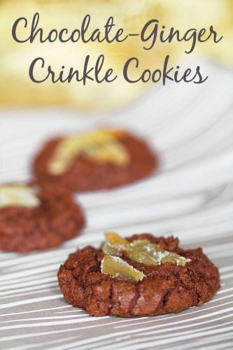Christmas Chocolate-Ginger Cookies