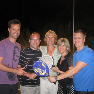 Palm Springs Three-Way Tennis Winners
