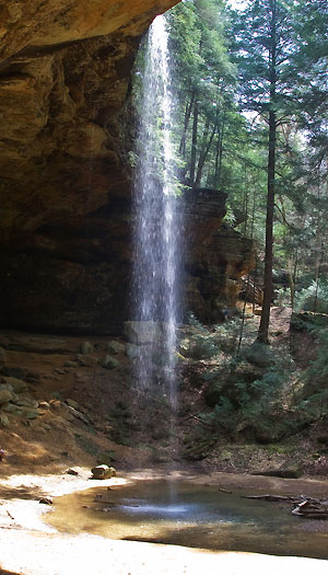 Ash Cave Waterfall