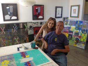 Giada De Laurentiis and Darren Quinn