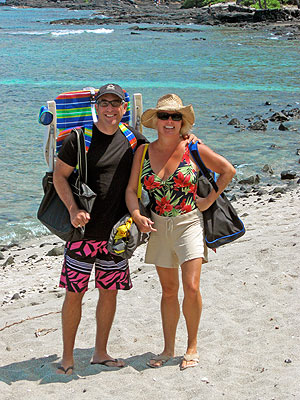 Kend & Liz in Hawaii