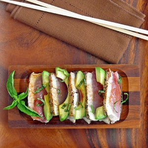Seared Albacore from Sippity Sup
