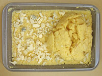 layer 2 of baked polenta