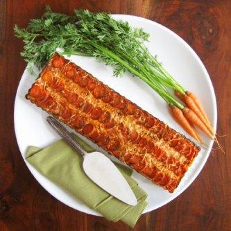 carrot leek tart