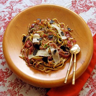 default pasta with chicken livers