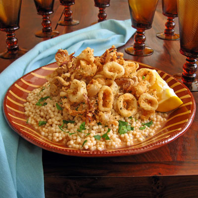 Sicilian couscous with fish broth