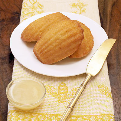 Lemon madeleine