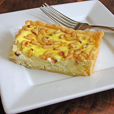 lemon ricotta tart