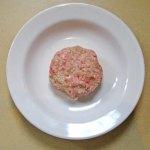 pork burger patty
